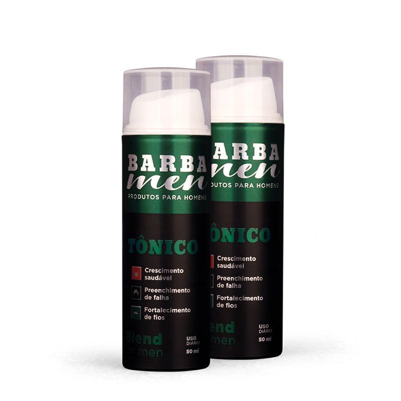 Kit Blend For Men - Crescimento De Barba - Tratamento 100 Dias