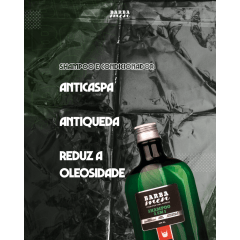 Shampoo Anticaspa - 2 em 1 -  Barba Men - 500ml
